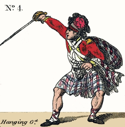 Hanging Guard Broadsword